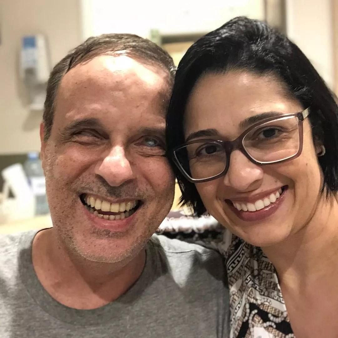 Dudu Braga com a mulher, Valeska (Foto: Reprodução/ Instagram)