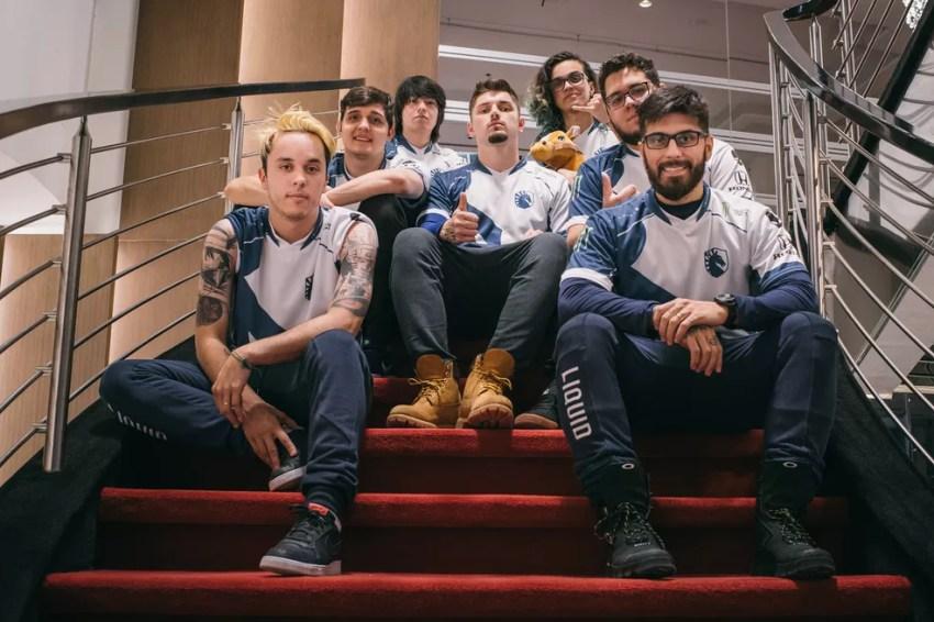 Team Liquid está nas quartas de final do Six Invitational — Foto: Bruno Alvares