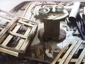Materiais foram registrados em área interna da seccional, em Campinas, pelo Ministério Público (Foto: Reprodução / Ministério Público)