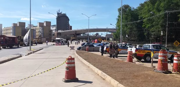 Defesa Civil informou que jogo da Copa não vai interferir em tempo de demolicação. (Foto: Pedro Ângelo/G1)