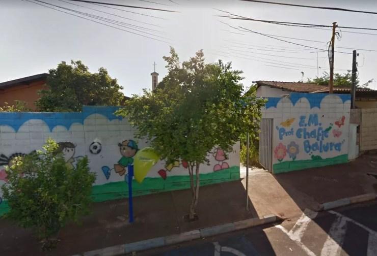 Menino cortou a língua na creche Chafic Balura, em São José do Rio Preto (SP) (Foto: Reprodução/Google Street View)