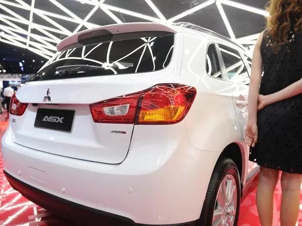 Mitsubishi ASX (Foto: Raul Zito/G1)