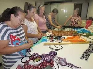 Fundo Social de Itatiba oferece curso de corte e costura (Foto: Mateus Trevine/ Prefeitura de Itatiba)