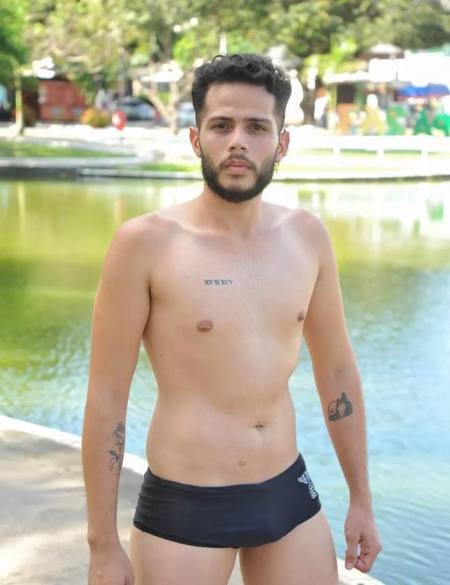 Rodrigo da Rocha durante ensaio fotográfico — Foto: Magno Silva/Divulgação