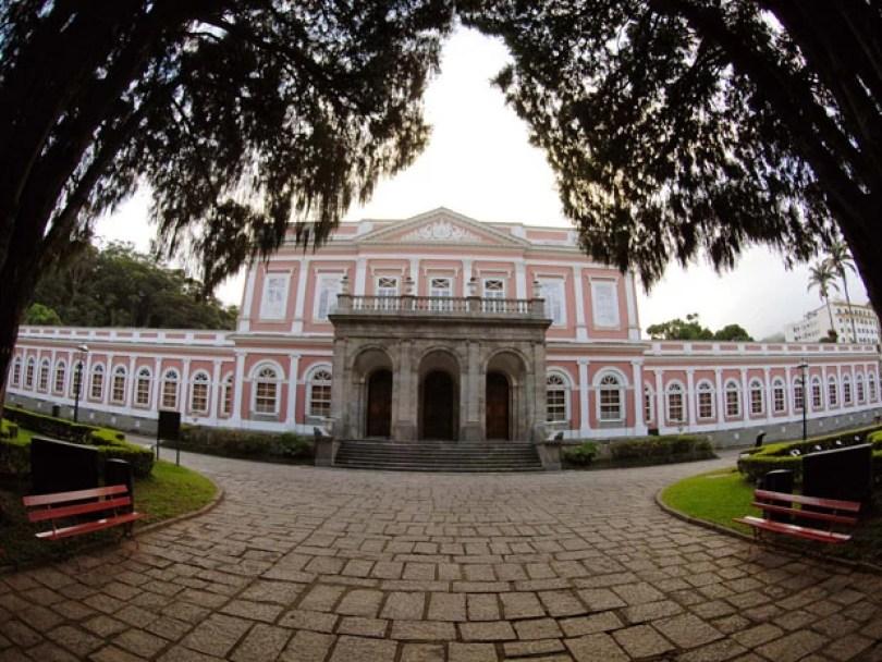 Museu Imperial em Petrópolis (Foto: Alexandre Durão/G1)