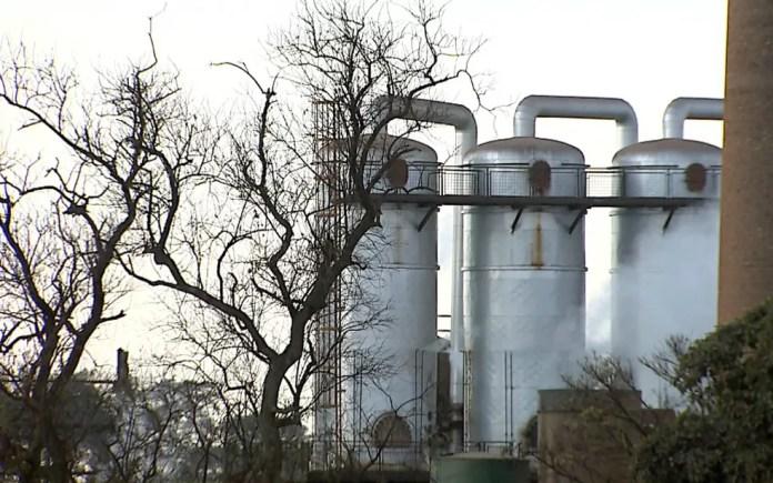 Usina de açúcar e etanol em Sertãozinho, SP (Foto: Paulo Souza/EPTV/Arquivo)