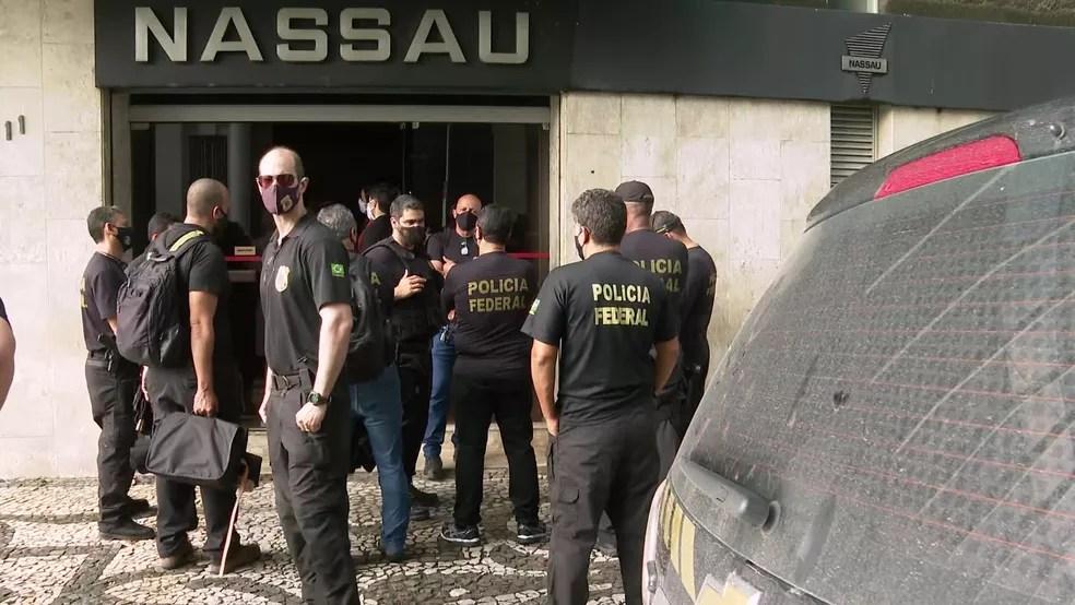 Cimento Nassau é uma das empresas do Grupo João Santos, um dos maiores conglomerados empresariais do Nordeste — Foto: Reprodução/TV Globo