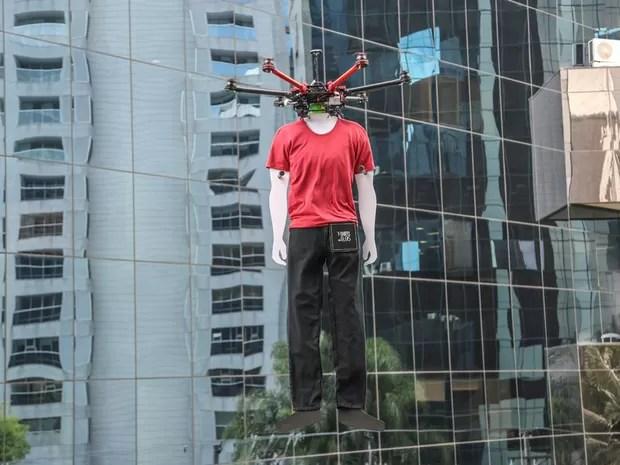 Ação com drones está sendo investigada (Foto: Divulgação)