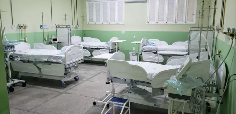 Hospital João Machado, leitos — Foto: Divulgação