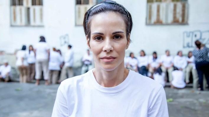 Ana Furtado muda o visual para viver personagem na novela das 9 — Foto: Ivan Oliveira / Gshow
