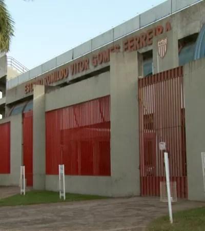Estádio Romildo Ferreira Mogi Mirim (Foto: Carlos Velardi / EPTV)