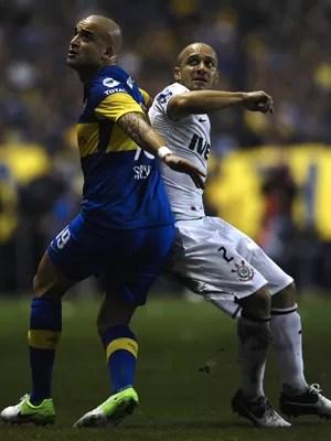 Boca 0 x 0 Corinthians; siga (AFP)