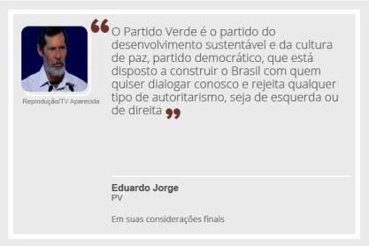 Eduardo Jorge (Foto: Arte/G1)