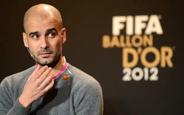 Pep Guardiola prêmio Bola de Ouro  (Foto: AFP)