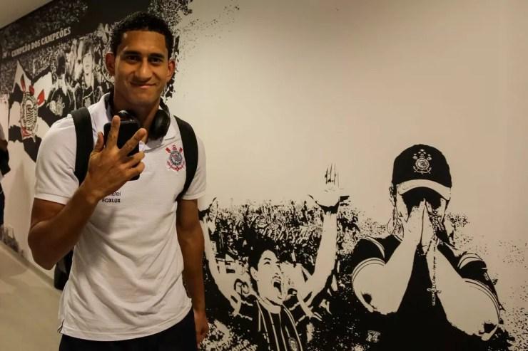 Pablo disputou 51 jogos e fez dois gols pelo Corinthians em 2017 — Foto: Daniel Augusto Jr. / Agência Corinthians