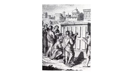 A Lei das Doze Tábuas codificou delitos e definiu penas para malfeitos, marcando o início de uma era na qual governos passaram a aprovar leis aplicáveis a todos os cidadãos (Foto: Wikicommons)