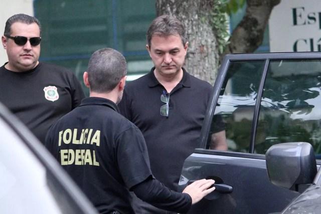 Empresário Joesley Batista deixa o Instituto Médico Legal (IML) Central de São Paulo após ser preso nesta sexta-feira (9) pela PF — Foto: Willian Moreira/Futura Press/Estadão Conteúdo