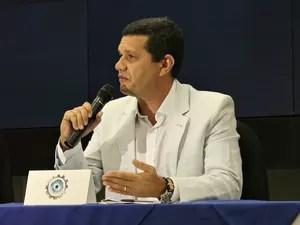 Secretário-executivo-adjunto de Planejamento e Gestão Integrada, Dan Câmara, participou do lançamento (Foto: Gabriel Machado/Site AM)