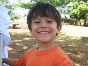 Joaquim, de 3 anos, foi encontrado morto no rio Pardo, em Barretos, SP (Foto: Divulgação/Arquivo pessoal)