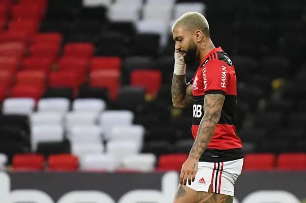 Gabigol, Flamengo x Internacional, Brasileirão — Foto: Alexandre Durão