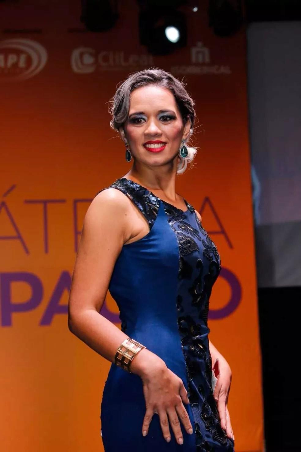 Sabrina perdeu 48kgs com a ajuda da cirurgia (Foto: Divulgação/Miss Bariátrica São Paulo)