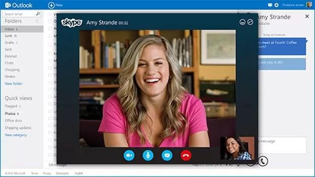 Microsoft lança portal Outlook.com que substitui o Hotmail (Foto: Divulgação)
