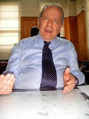 Kalil Rocha Abdalla candidato da oposição à presidência do São Paulo (Foto: Alexandre Lozetti)