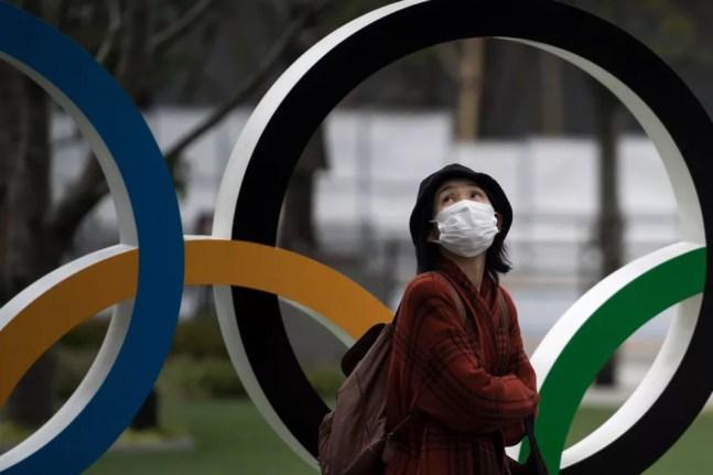 Aros Olímpicos em Tóquio — Foto: Tomohiro Ohsumi/Getty Images