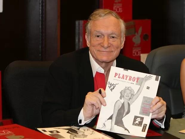 Fundador da revista e editor-chefe, Hugh Hefner, em foto tirada em 2007 (Foto: AP)