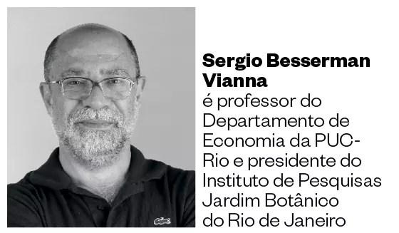 Sergio Besserman Vianna (Foto: Ana Branco/Agencia O Globo)