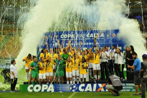 Brasil campeão (Foto: Mauro Neto/Sejel)