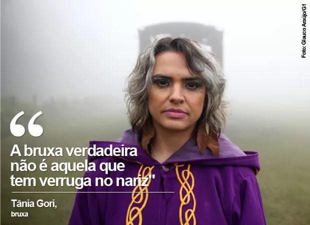 Convenção reúne bruxos no ABC Paulista (Foto: Glauco Araújo/G1)