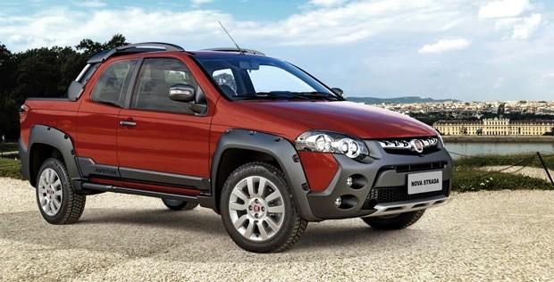 Fiat Strada é renovada e ganha caçamba maior (Foto: Divulgação)