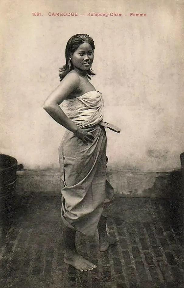 Garota do Camboja (Foto: Flickr)