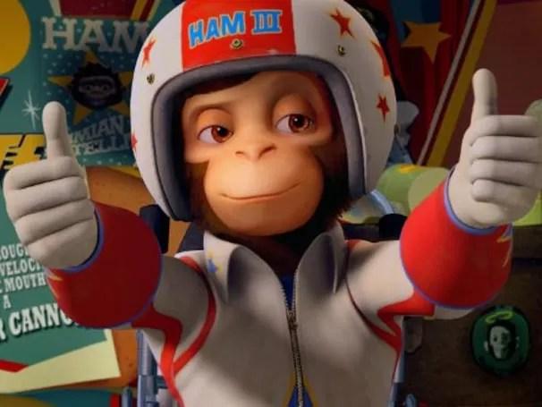 'Space Chimps 2 - O Retorno de Zartog' traz novas aventuras  (Foto: Divulgação / Reprodução)