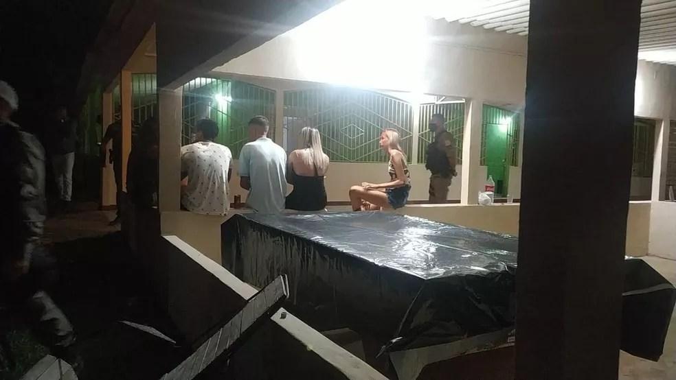 Polícia Militar encerra festa clandestina em chácara no interior do Acre  — Foto: Arquivo/PM-AC