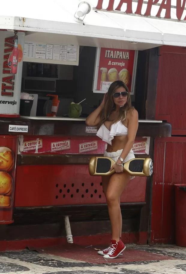 Liziane Gutierrez (Foto: Gabriel Reis / Ag. News)
