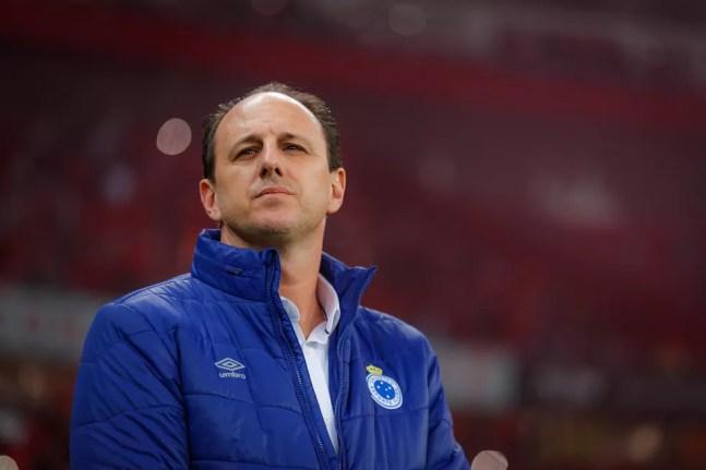 Rogério Ceni foi técnico do Cruzeiro em 2019 — Foto: Vinnicius Silva / Cruzeiro