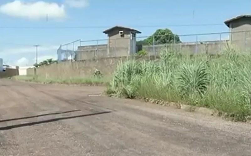 Suspeitos foram levados para a CPP de Gurupi (Foto: Reprodução/TV Anhanguera)