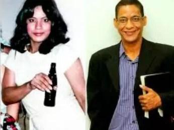 Imagem mostra o antes e depois de pastor (Foto: Arquivo pessoal/ Joide Miranda)