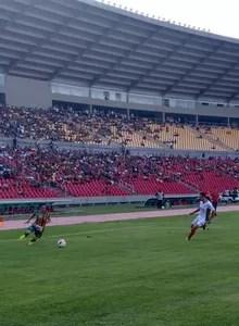 Pimentinha em lance no jogo Sampaio e Boa Esporte no Castelão (Foto: Afonso Diniz / GloboEsporte.com)
