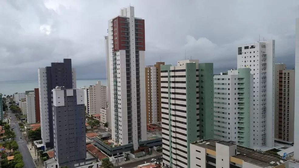 João Pessoa está entre os municípios citados no alerta de chuvas do Inmet — Foto: Lucas Costa/Arquivo pessoal