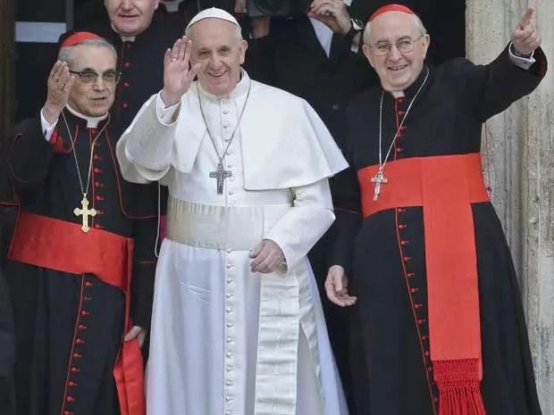 Papa Francisco na Basílica de Santa Maria Maior, em Roma. (Foto: Alessandro Bianchi / Reuters)