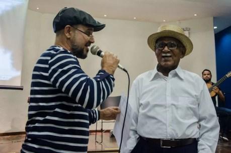 Mestre Chocho (à direita), representante do choro em Pernambuco, também está entre os escolhidos (Foto: Jan Ribeiro/Secult-PE/Divulgação)