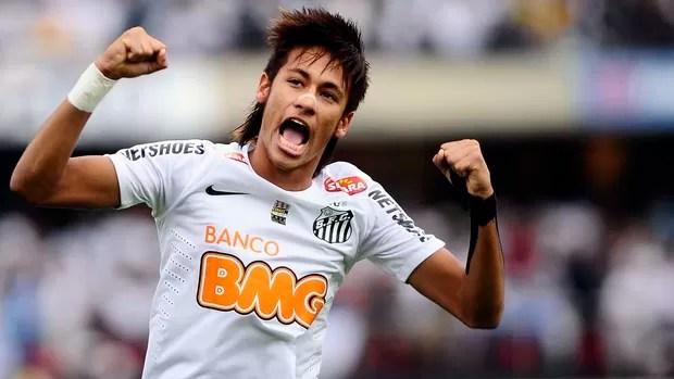 Neymar, final Santos x Guarani (Foto: Marcos Ribolli / Globoesporte.com)