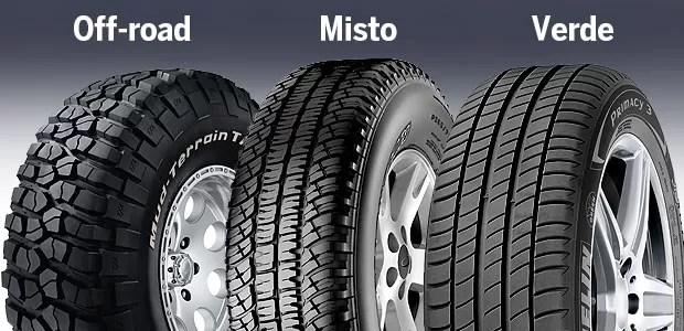 Veja as diferenças entre os tipos de pneus (Foto: Autoesporte)