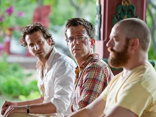 Phil (Bradley Cooper), Stu (Ed Helms) e Alan (Zach Galifianakis), em 'Se beber, não case 2' (Foto: Divulgação)