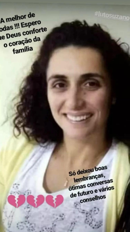 Eliana Regina de Oliveira Xavier era inspetora na Escola Estadual Raul Brasil — Foto: Foto: Redes Sociais