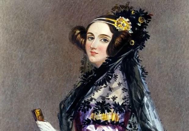Retrato de Ada Lovelace (Foto: Reprodução/Wikipedia)