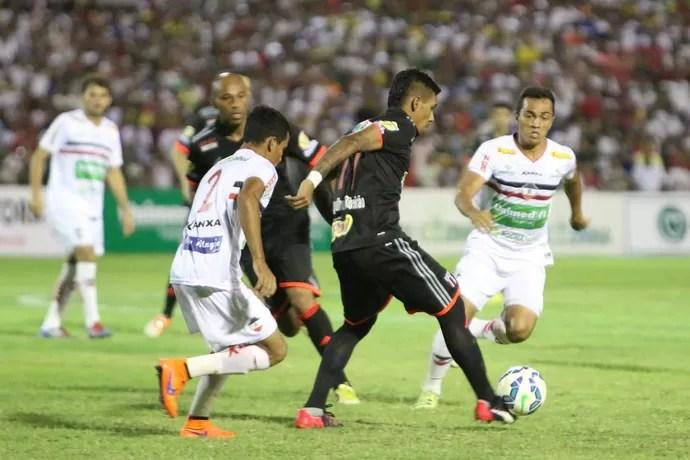 River-PI x Botafogo-SP (Foto: Rogério Moroti / Agência Botafogo)